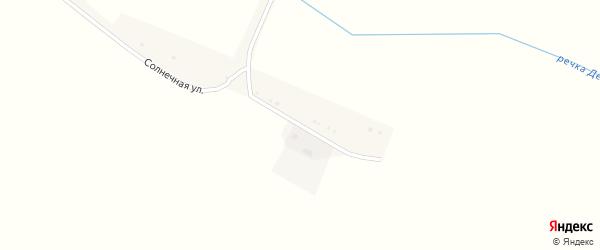 Солнечная улица на карте села Яропольцы с номерами домов