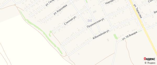 Пушкинская улица на карте поселка Вейделевки с номерами домов