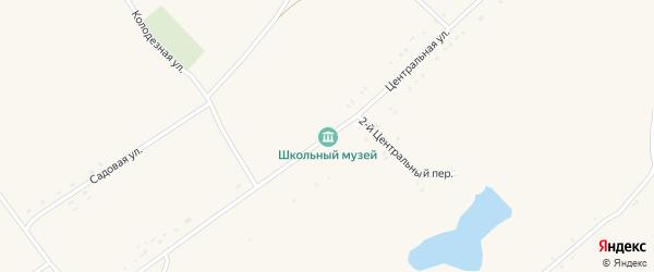 Центральная улица на карте села Староуколово с номерами домов