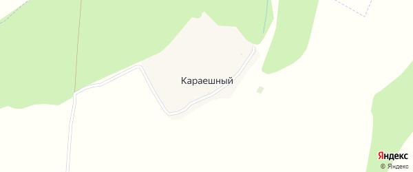 Лесная улица на карте Караешного хутора с номерами домов