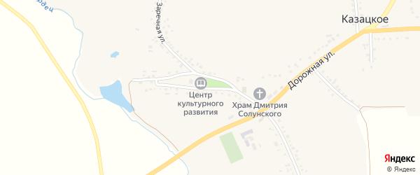 Площадь Ленина на карте Казацкого села с номерами домов