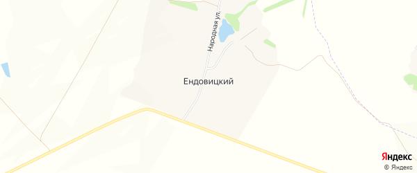 Карта Ендовицкого хутора в Белгородской области с улицами и номерами домов