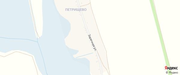 Заречная улица на карте хутора Менжулюка с номерами домов