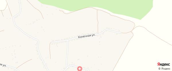 Конечная улица на карте села Новосолдатки с номерами домов