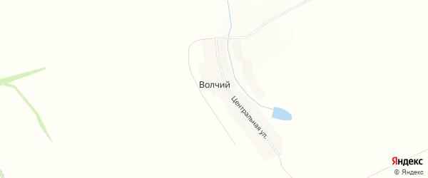 Карта Волчьего хутора в Белгородской области с улицами и номерами домов