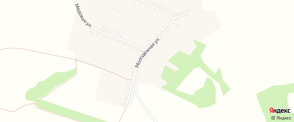 Центральная улица на карте Станичного села с номерами домов