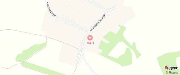 Садовая улица на карте Станичного села с номерами домов