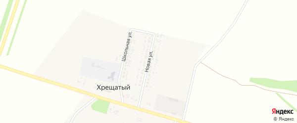 Новая улица на карте Хрещатого хутора с номерами домов