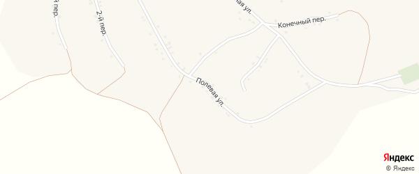 Полевая улица на карте Заломного села с номерами домов