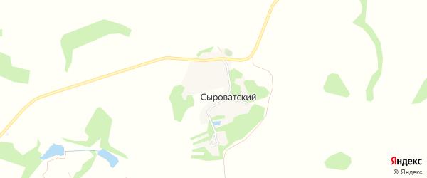 Карта Сыроватского хутора в Белгородской области с улицами и номерами домов