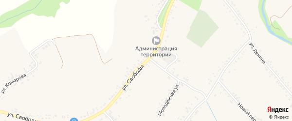 Улица Свободы на карте села Ильинки с номерами домов