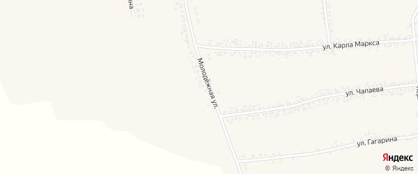 Молодежная улица на карте села Иловки с номерами домов