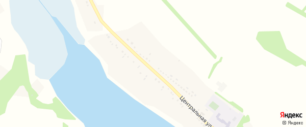 Солнечная улица на карте села Жуково с номерами домов