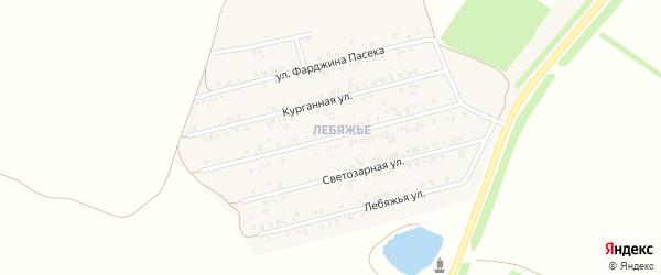 Розовый бульвар на карте Алексеевки с номерами домов