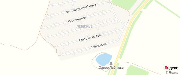 Светозарная улица на карте Алексеевки с номерами домов
