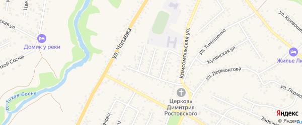 Улица Энергетиков на карте Алексеевки с номерами домов