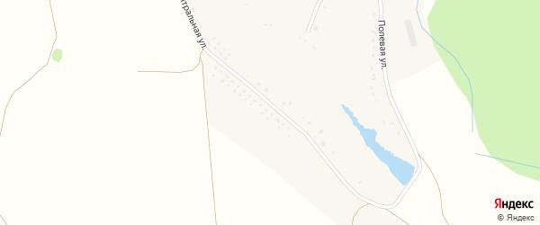 Центральная улица на карте хутора Колесникова с номерами домов