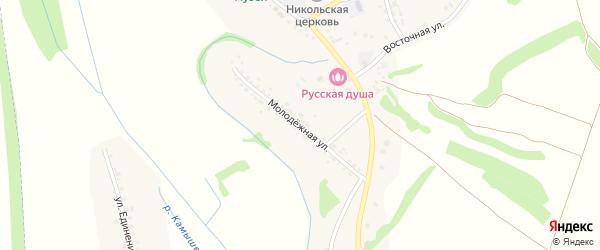 Молодежная улица на карте села Готовьего с номерами домов