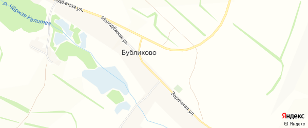 Карта хутора Черепова в Белгородской области с улицами и номерами домов