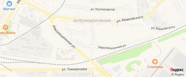Переулок 3-й Маяковского на карте Алексеевки с номерами домов