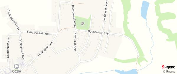 Молодежная улица на карте Красного села с номерами домов