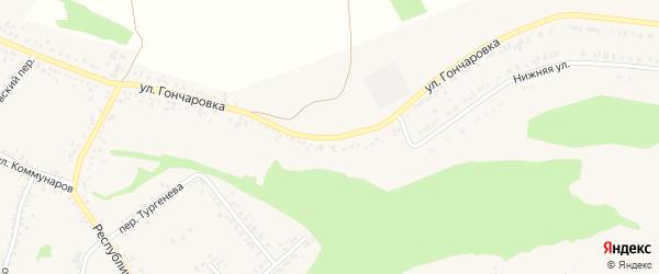 Улица Гончаровка на карте Алексеевки с номерами домов