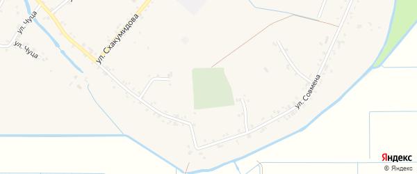 Дорога А/Д Подъезд к а. Панахес на карте аула Панахес с номерами домов