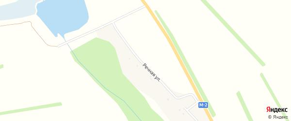 Речная улица на карте хутора Покладова с номерами домов