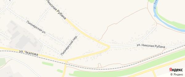 Улица Н.Рубана на карте Алексеевки с номерами домов