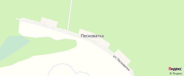Улица Песковатка на карте хутора Песковатки с номерами домов