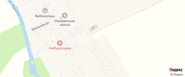 Восточная улица на карте деревни Ширяихи с номерами домов