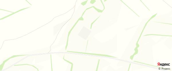 Карта села Сероштаново в Белгородской области с улицами и номерами домов