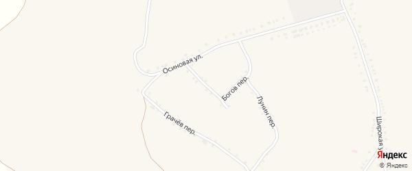 Колхозный переулок на карте села Лесное Уколово с номерами домов
