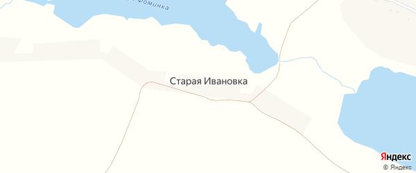 Улица Старая Ивановка на карте хутора Старой Ивановки с номерами домов