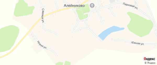 Луговая улица на карте села Алейниково с номерами домов