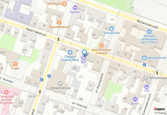 Крестовая улица, 79 на карте-панораме Рыбинска, организации, фото ... 2d6db8ab26a