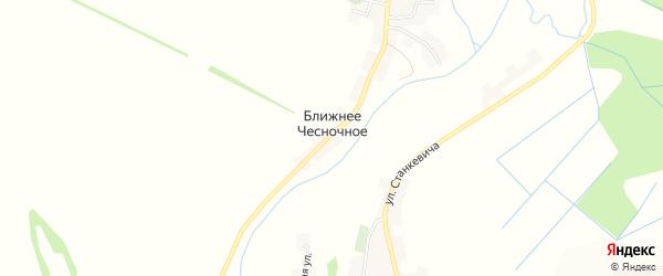 Карта Ближнего Чесночного села в Белгородской области с улицами и номерами домов