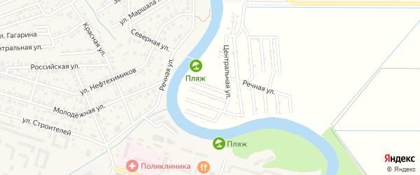 Грушовая улица на карте садового некоммерческого товарищества Мелиоратора-1 с номерами домов