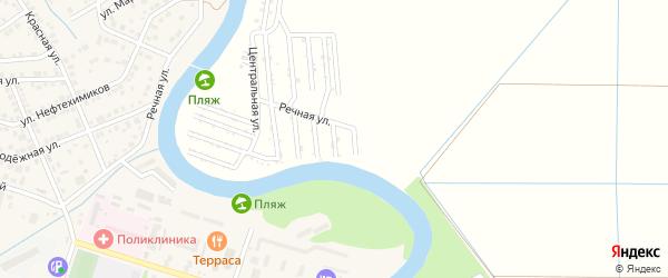 Калиновая улица на карте садового некоммерческого товарищества Мелиоратора-1 с номерами домов