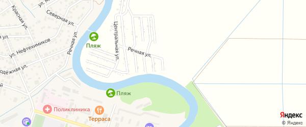 Калиновая улица на карте садового некоммерческого товарищества Мелиоратор (Старобжегокайское с/п) с номерами домов