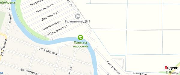 Приречная улица на карте садового некоммерческого товарищества 70 лета Октября с номерами домов