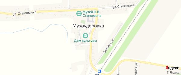 Улица А.Никитенко на карте села Мухоудеровки с номерами домов