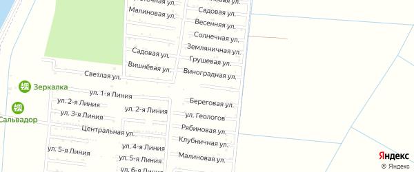 Абрикосовая улица на карте садового некоммерческого товарищества Имени Хуаде с номерами домов