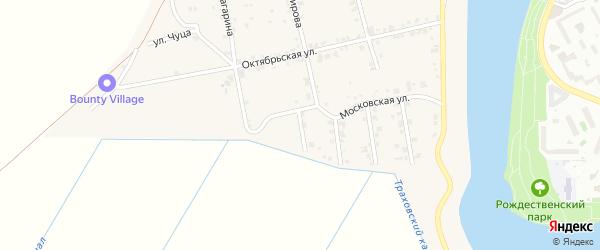 Улица Хакурате на карте аула Старобжегокай с номерами домов