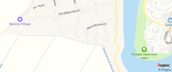 Майкопская улица на карте аула Старобжегокай с номерами домов