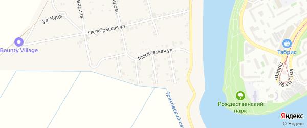 Улица Андрухаева на карте аула Старобжегокай с номерами домов