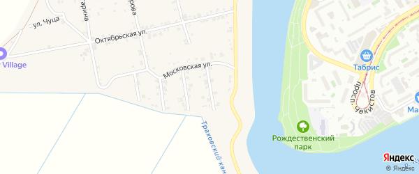Молодежная улица на карте аула Старобжегокай с номерами домов