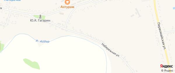 Набережная улица на карте поселка Ровенек с номерами домов