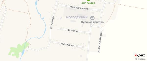 Новая улица на карте поселка Ровенек с номерами домов