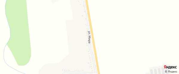 Улица Мира на карте села Айдара с номерами домов